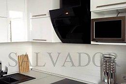 Дизайн вместительной кухни 8 кв м в Минске (10 фото)