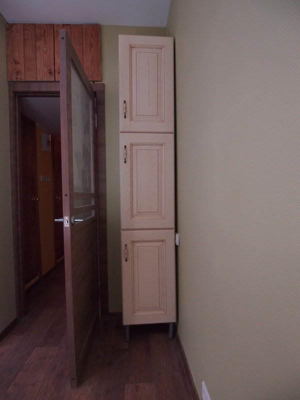 Как сделать холодильник в стене 738
