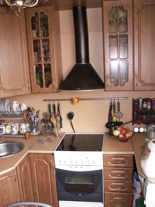Кухня 6 кв. м: простой и