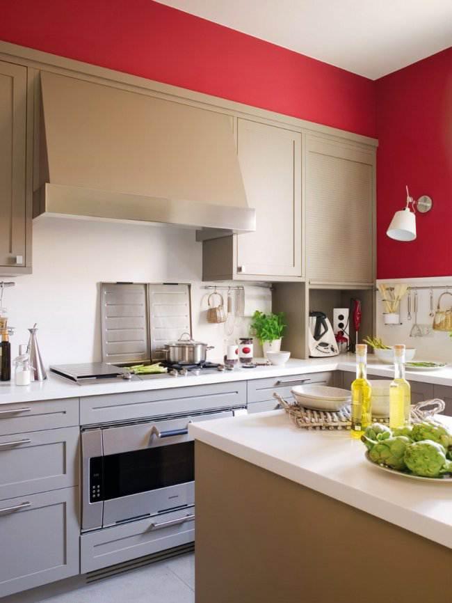Кухня с островом в стиле прованс (9 фото)