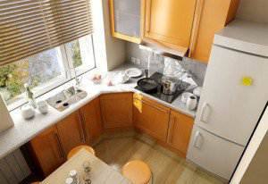 4 способа увеличить кухню 6 кв.м