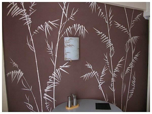 Роспись стен на кухне (12 фото)