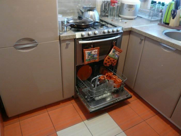 Дизайн кухни 4 м кв