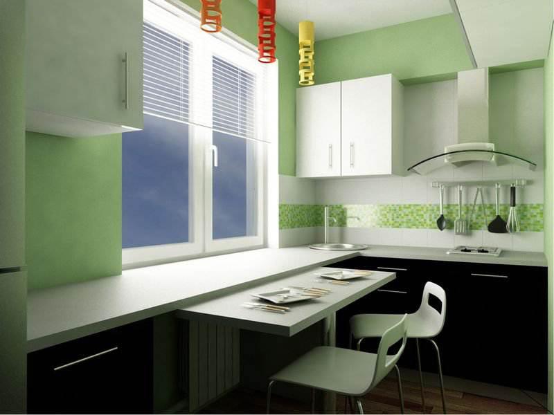 Дизайн кухни 3 на 6 метров