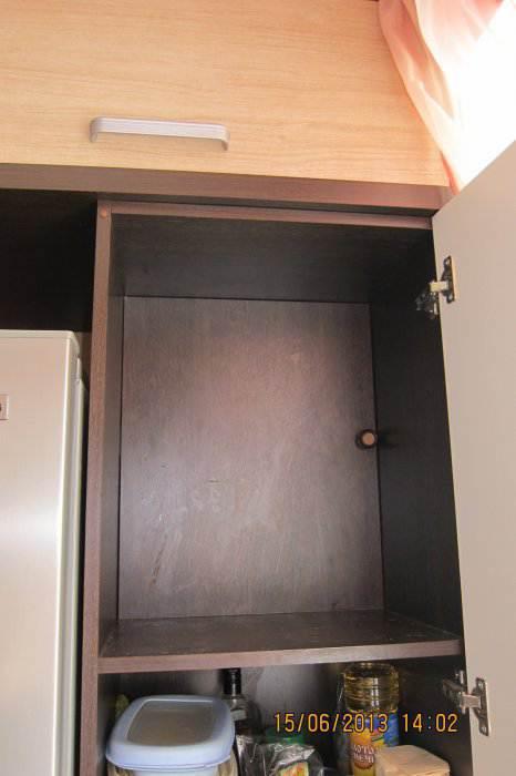 Как спрятать газовый счетчик на кухне 12 кв.м (5 фото)