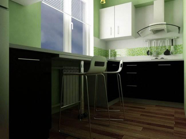 Дизайн П-образной кухни 6 кв.м – советы профессионала (11 фото)