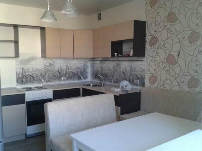 Кухня 8 кв м фото мебельные салоны