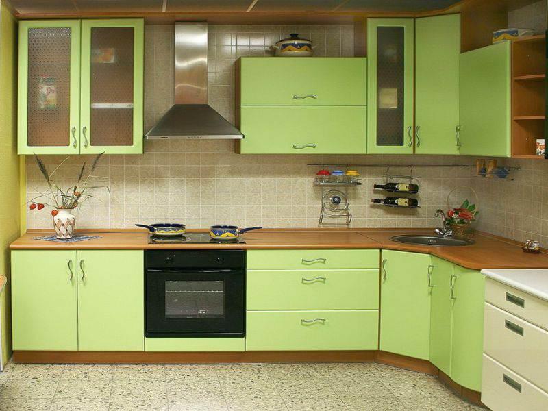 Сочетание цветов в дизайне кухни