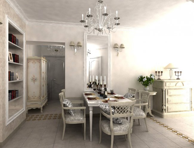 Дизайн прованс кухни фото