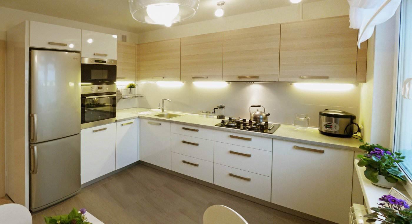 Дизайн проект кухни 10 кв м фото