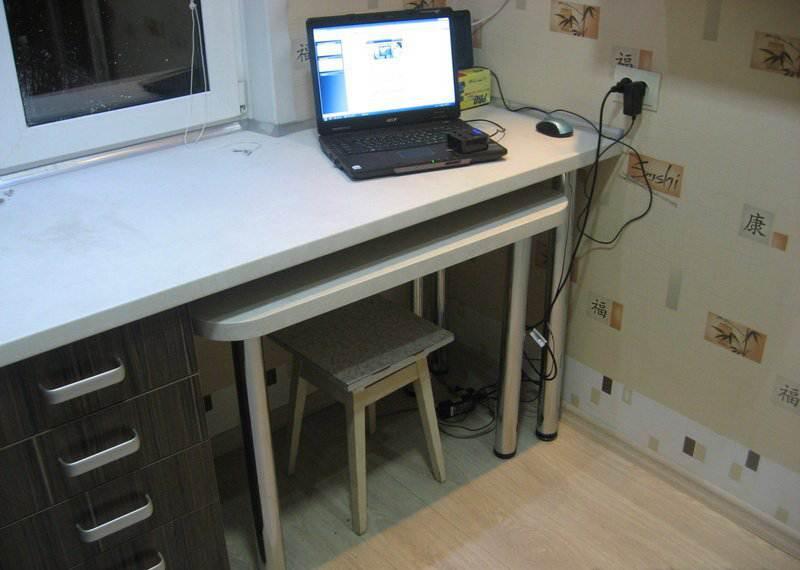Столешница шириной 90 кухонная столешница заведенная в подоконник своими руками