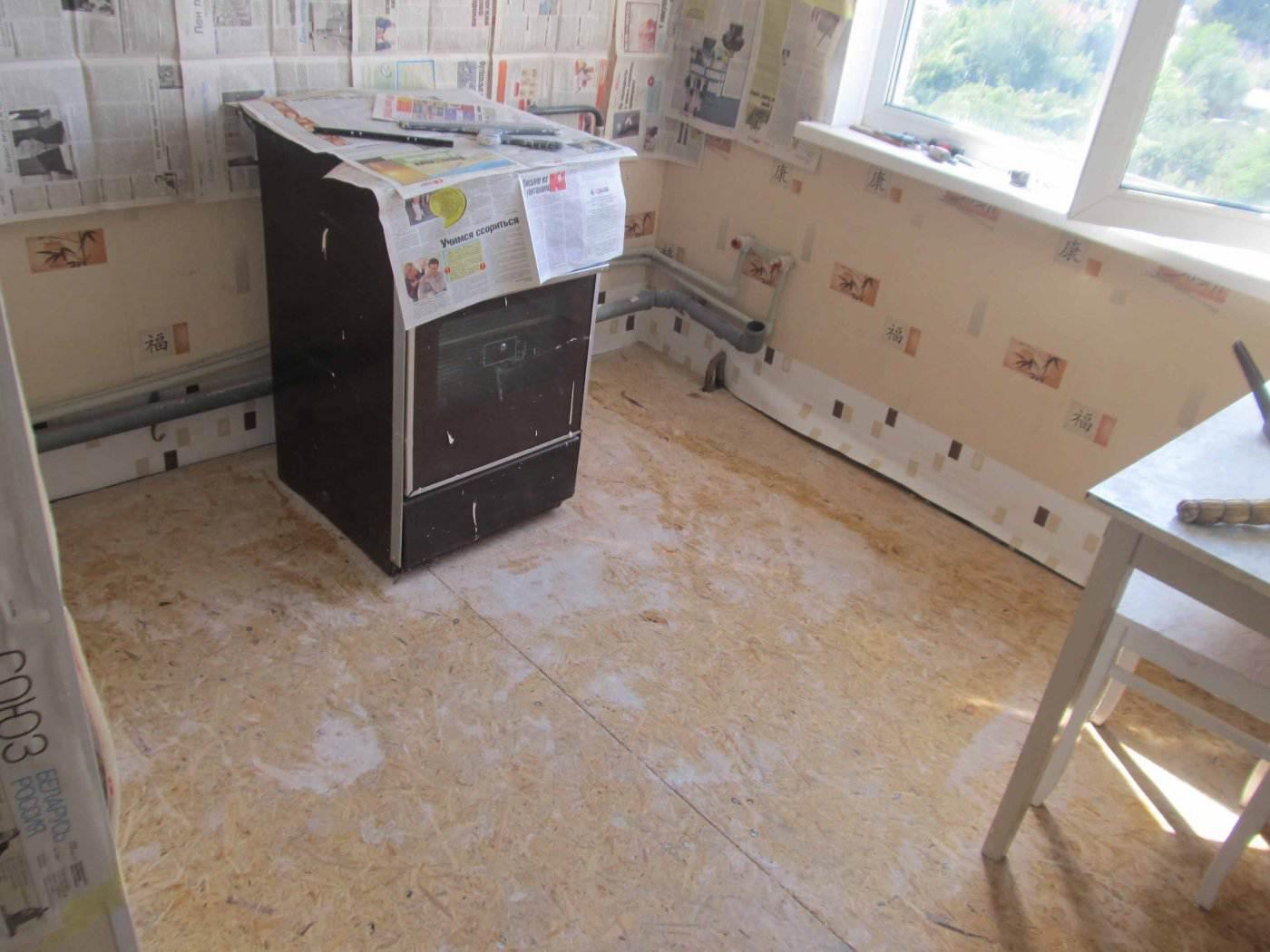 Ремонт кухни в хрущевке 5-кв м своими руками