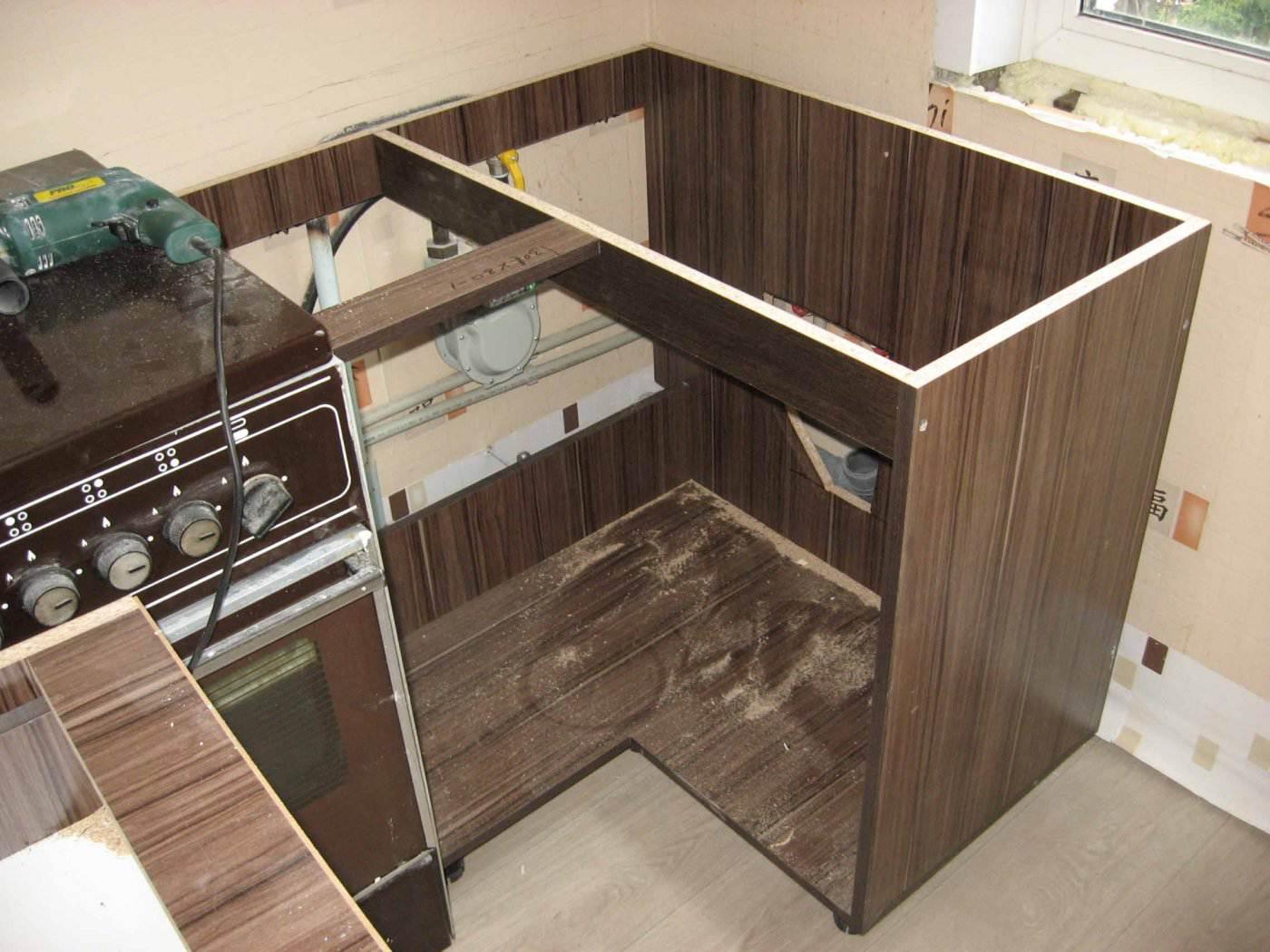 Кухни угловые своими руками фото