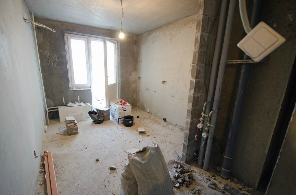 дизайн гостиной-кухни 10 кв.м фото
