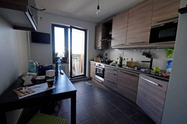 Ход ремонта и дизайн кухни 10 кв.м в новостройке (10 фото)