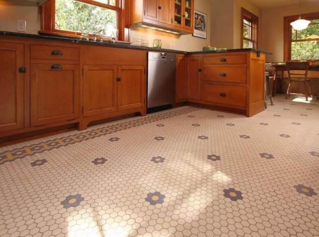 Bathroom bamboo flooring