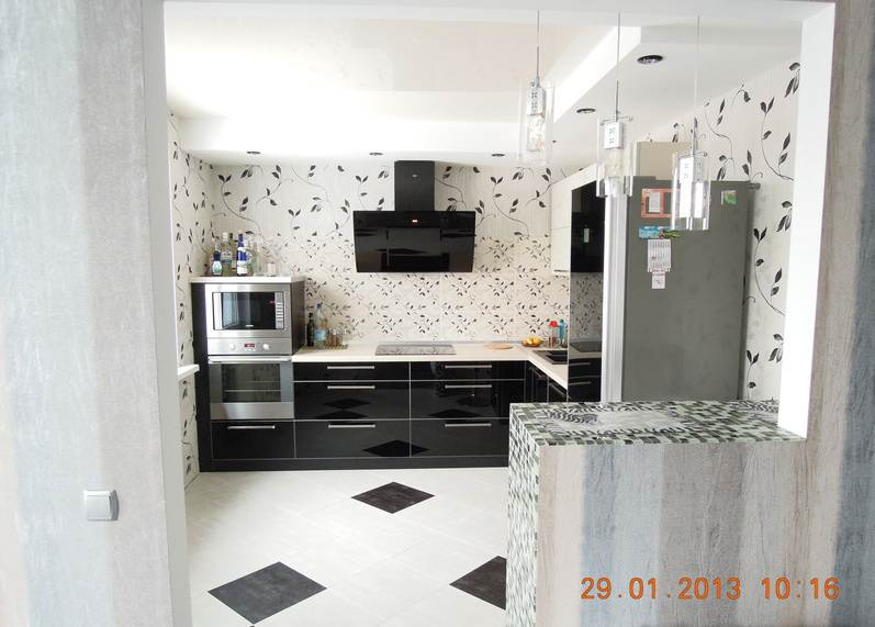Кухня-гостиная 14 кв м дизайн фото