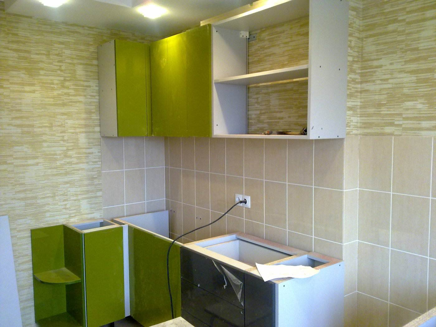 Пошаговый фото ремонт кухонь