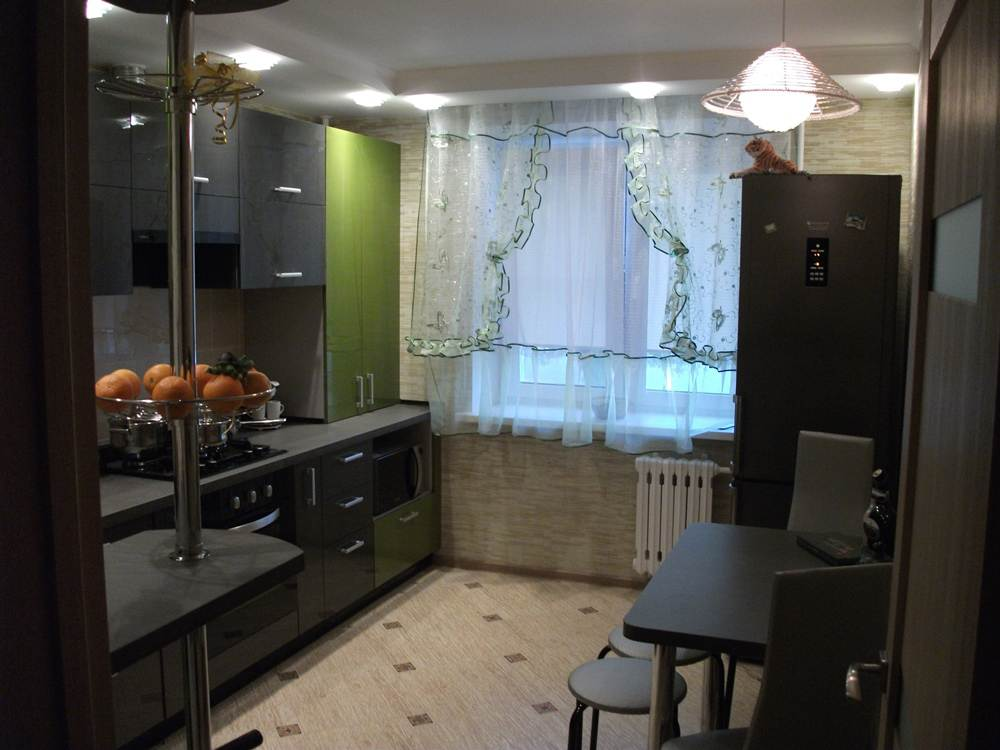 Дизайн кухни 11 кв м в современном стиле