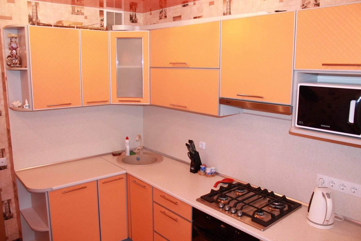 Дизайн кухня 10м
