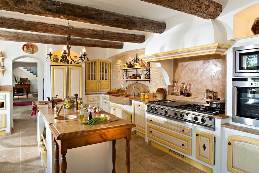 как оформить кухню в стиле прованс 26 фото интерьеров