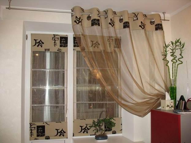 Вязанные шторы в интерьере (52 фото). Схемы вязанных штор