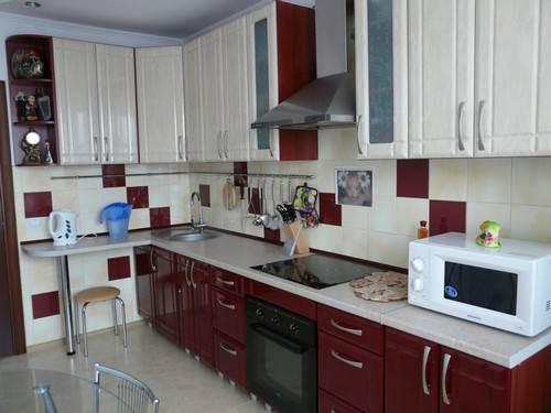 Кухня голубого цвета в интерьере фото