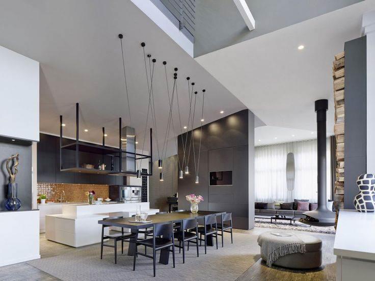 кухни в стиле лофт живые примеры интерьеров