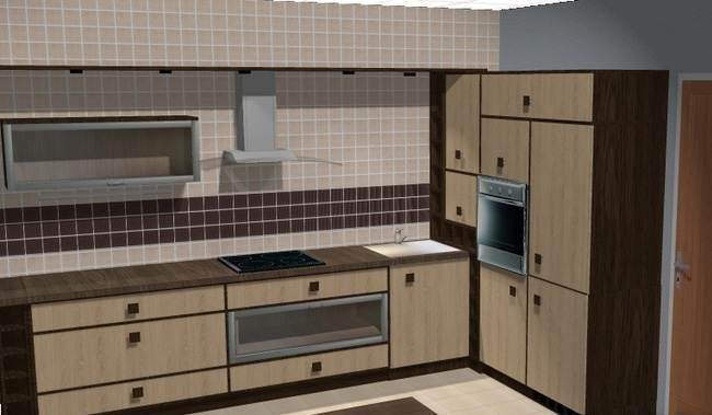 Кухня своими руками 7 кв