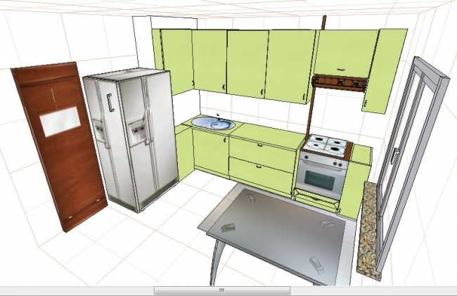 Удобна ли кухня?