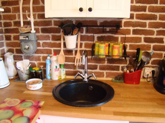 Дизайн кухни в стиле кантри от Икеа (20 фото)