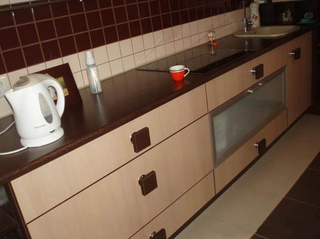 Кухня своими руками из ДСП за 1100$ (7 фото)
