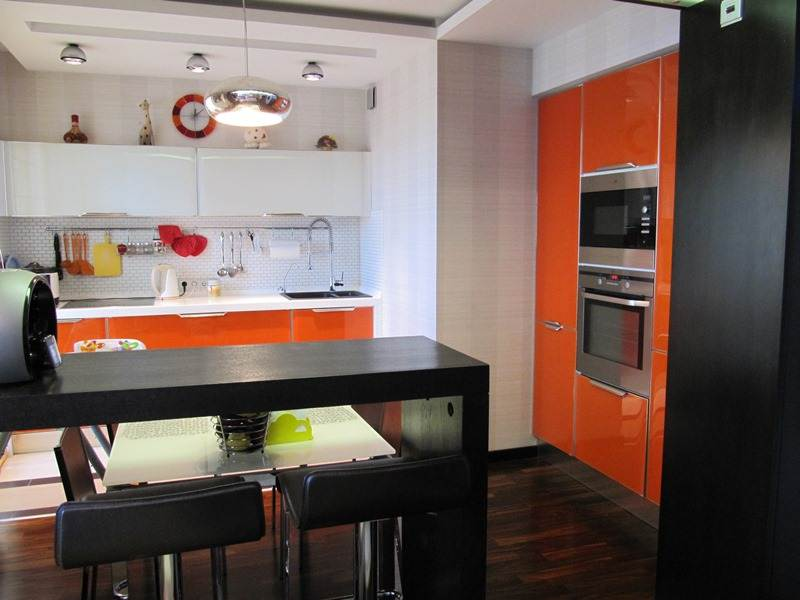 Кухня гостиная в квартире дизайн