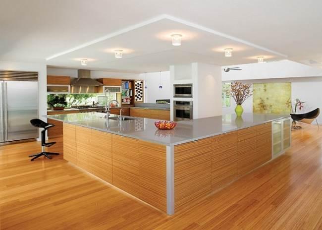Как рассчитываются цены на натяжной потолок на кухне?