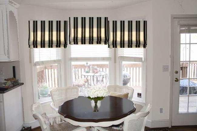 Как выбрать римские шторы на кухню? (34 фото)