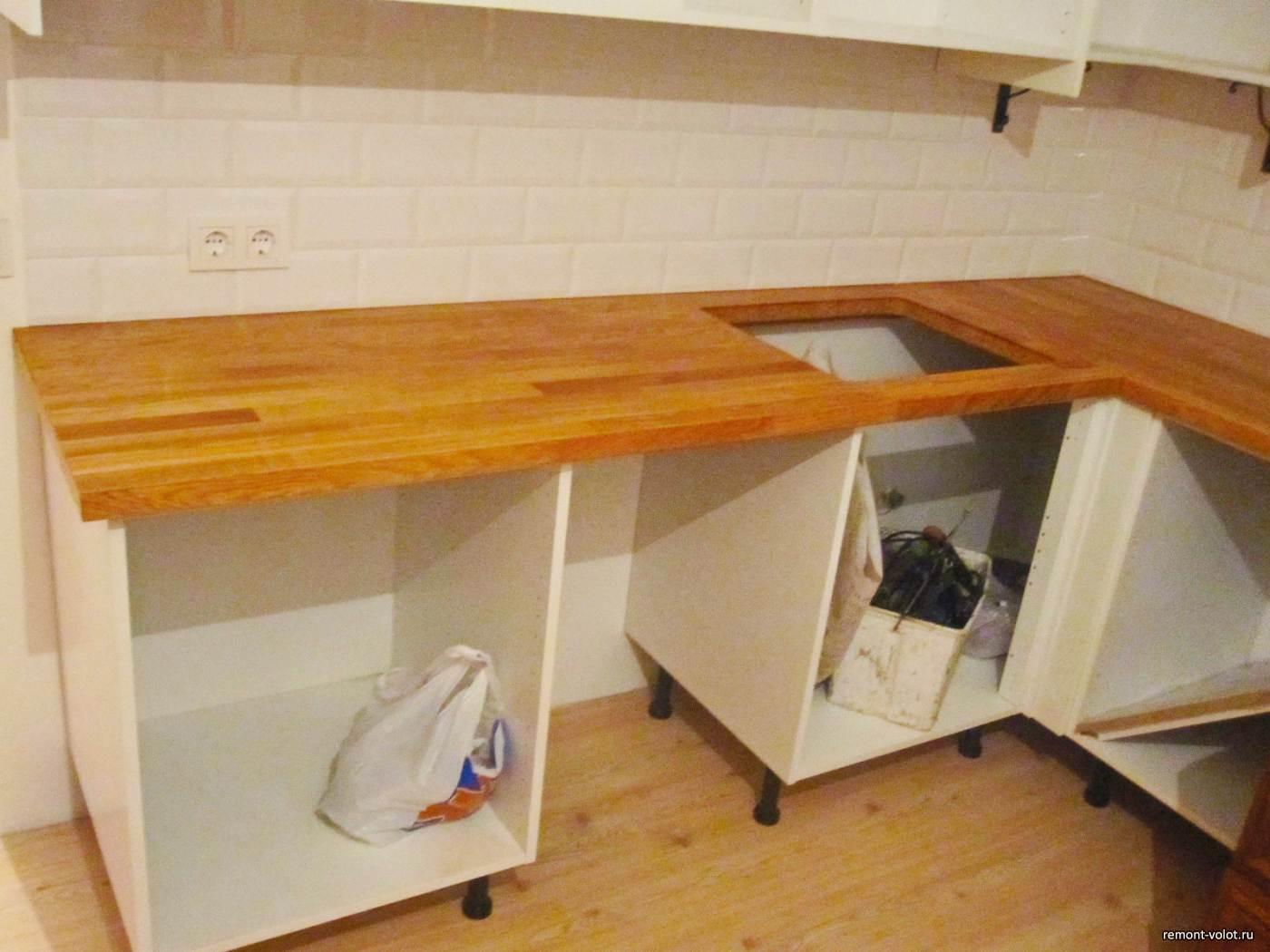 Установка кухни от икеа своими руками