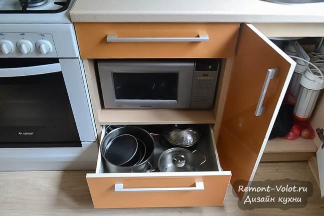 Дизайн перламутрово-золотой кухни 7 кв.м. за 1700$ (12 фото)