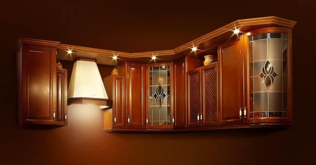 Освещение на кухне в примерах (17 фото)