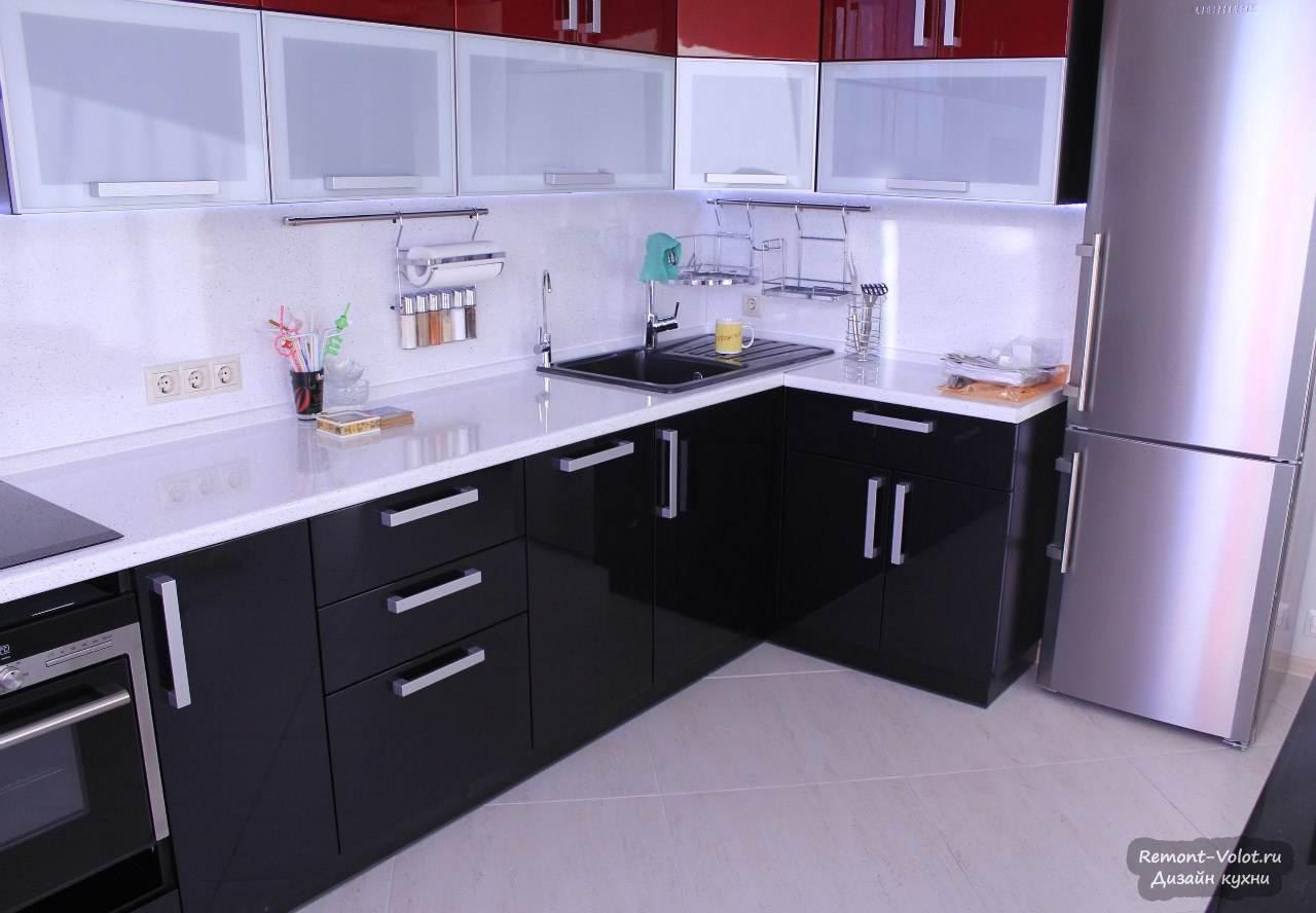 Дизайн кухни размером 3 на 5