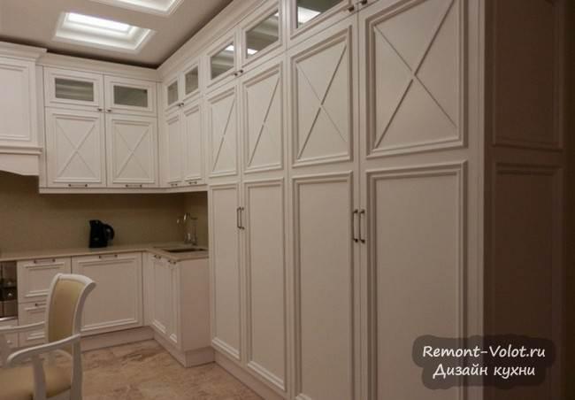 Дизайн классической белой кухни в квартире за $690 000