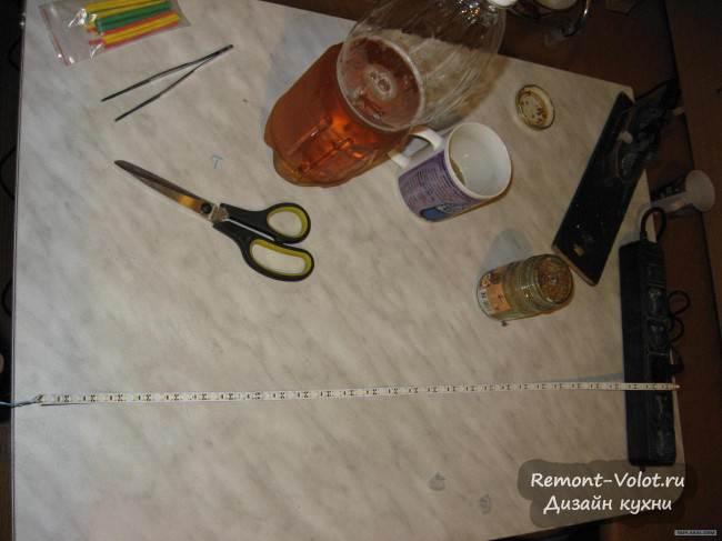 Установка светодиодной подсветки рабочей зоны своими руками (18 фото)