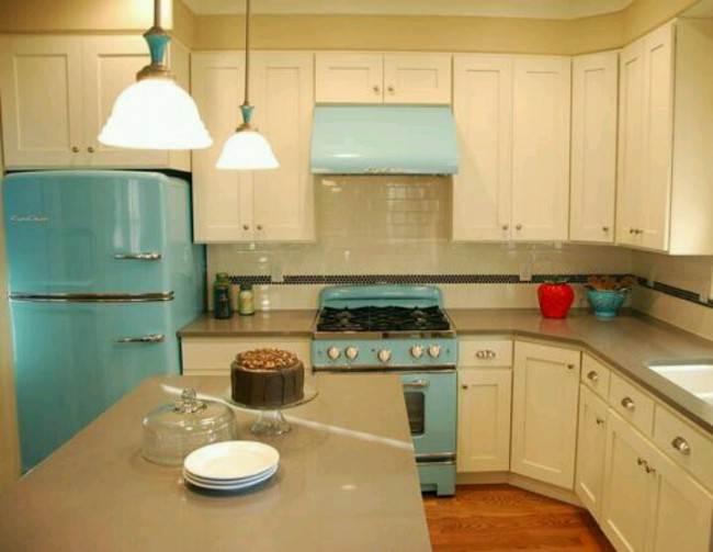Как оформить кухню в стиле ретро? Выбираем мебель, технику