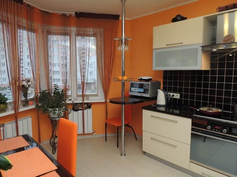 Дизайн кухонь с эркером фото