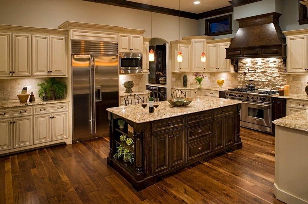 Кухни с островками фото