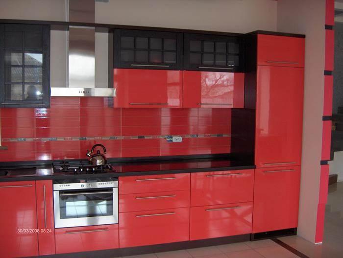 Акриловые фасады для кухни  за квадратный метр