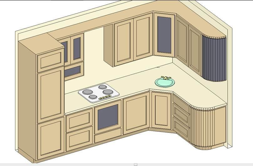 Кухни проекты своими руками 96