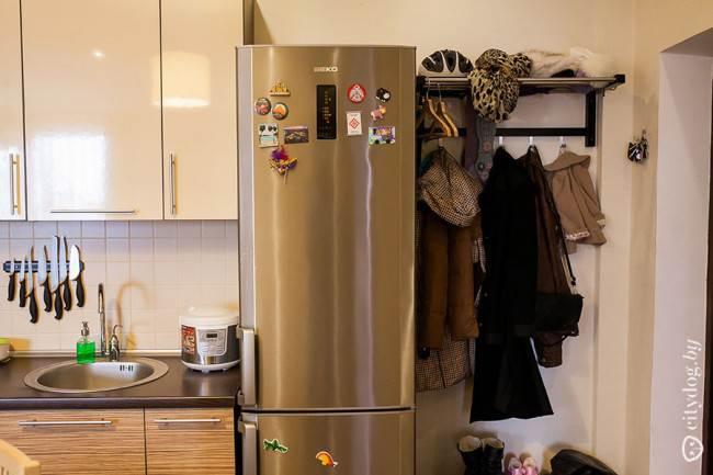 Перепланировка - кухня вместо прихожей