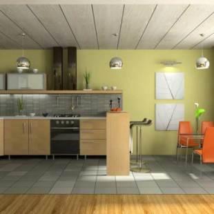 Потолок на кухне (25 фото) - дизайн, какой лучше