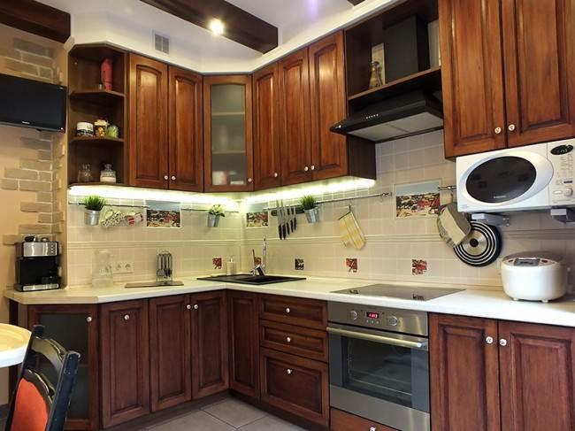 Фасады для кухни: МДФ, ДСП, пластик или массив?