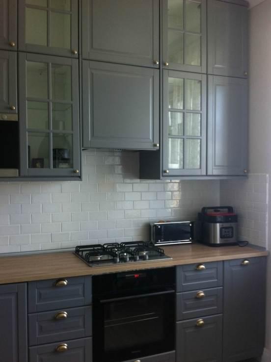 МДФ-фасады на классической кухне